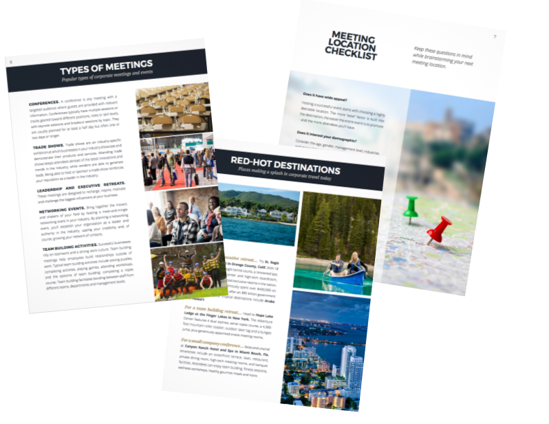 Preview WEA Meeting Planning eBook
